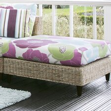 Sea Breeze Banquette Footstool