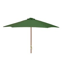 2.7m Crank Parasol in Green
