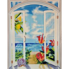"11"" x 14"" Window View Vertical Tile"