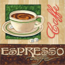 "<strong>En Vogue</strong> 8"" x 8"" Espresso Art Tile in Multi"