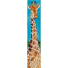 "<strong>En Vogue</strong> 16"" x 3"" 1 Giraffe Art Tile in Multi"