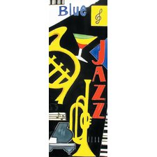 "<strong>En Vogue</strong> 16"" x 6"" Life Is Music Art Tile in Multi"