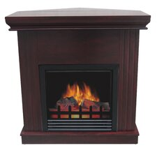Boston Corner Electric Fireplace