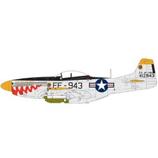 1:72 North American P-51F Mustang Plane Model Kit