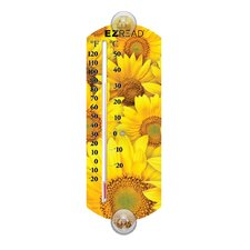 Sunflower Thermometer