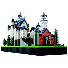 Deluxe Edition Castle Neuschwanstein Building Blocks