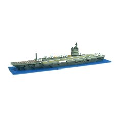 Deluxe U.S.S. Enterprise Aircraft Carrier Building Blocks