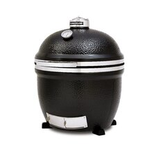 BigJoe Stand Alone Grill with Heat Deflector