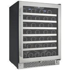 54 Bottle Single Zone Wine Refrigerator