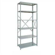 "Open Clipper Basic 87"" H x 5 Shelf Shelving Unit Starter"