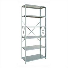 "Open Clipper Basic 87"" H 6 Shelf Shelving Unit Starter"