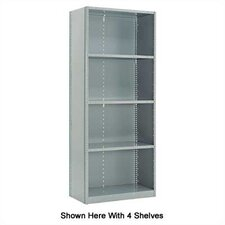 Closed Clipper Basic Units - 6 Shelves