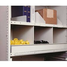 "Clipper Bin 87"" H 8 Shelf Shelving Unit Add-on"