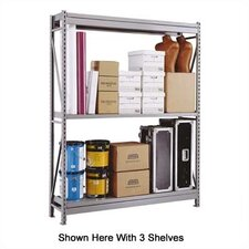 <strong>Penco</strong> Wide Span Shelving Basic Units - With 2 Steel Shelves