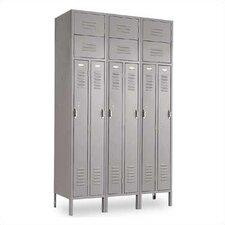 Vanguard Two Person 3 Wide Locker (Unassembled)