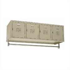 <strong>Penco</strong> Vanguard Four Wide Wall Mount Locker (Unassembled)