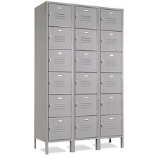 Vanguard Six Tier 3 Wide Locker (Assembled)