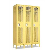Invincible II Single Tier 3 Wide Locker (Assembled)