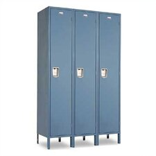 Vanguard  1 Tier 3 Wide Contemporary Locker