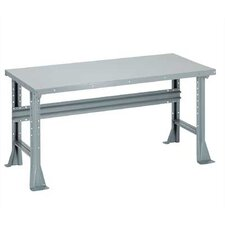 Open Work Bench - Tuff Top, Composition Core, Fixed Height