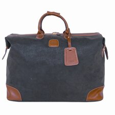 "Life Valise 21"" Leather Carry-On Duffel"