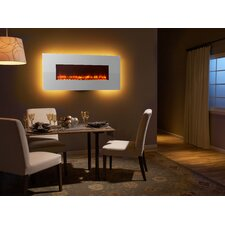 "58"" Modern Linear Wall Mount Electric Fireplace"