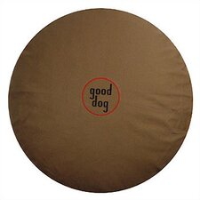 """Good Dog"" Logo Round Dog Pillow"