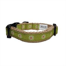 Flower Cotton Tiny Dog Collar