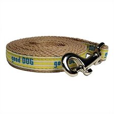 """Good Dog"" Cotton Tiny Dog Leash"