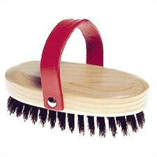 Leather Handle Brush