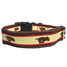 Running Dog Cotton Dog Collar
