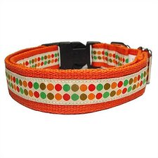 <strong>George SF</strong> Doggy Dots Cotton Dog Collar