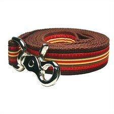 Ticking Stripe Cotton Dog Leash