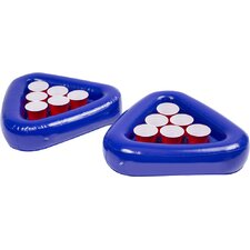 Splash Cup Pong Inflatable Beiruit Pool Cooler (Set of 2)