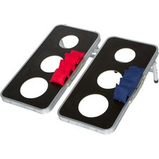 10 Piece 3-Hole Cornhole Game Set