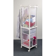 Multi Function Laundry and Storage Station