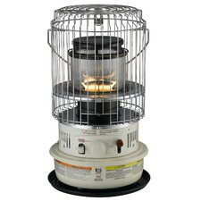 Portable 10,500-BTU Indoor Kerosene Powered Convection Heater with Electronic Ignition
