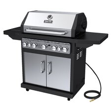 Natural Gas Grill with Side Burner
