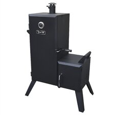 <strong>Dyna-Glo</strong> Double Door Vertical Charcoal Smoker with Adjustable Cook Grate