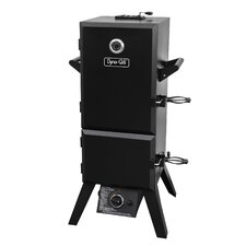 "19"" Double Door Vertical Gas Smoker with Adjustable Cook Grate"