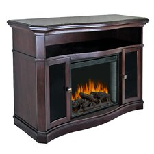 "Wheaton Media Cabinet and 23"" Electric Fireplace"