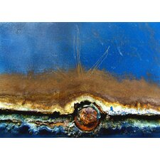 Rusted in the Ocean Graphic Art on Canvas