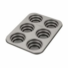 Novelty 6-Cup Round Cakelette Pan