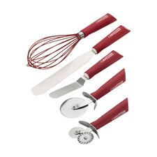 5 Piece Baking and Decorating Utensil Set
