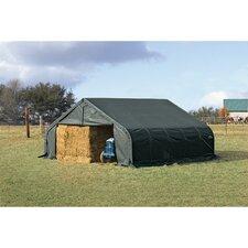 22' x 28' x 11' Peak Style Shelter