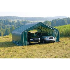 22' x 20'' x 13' Peak Style Shelter