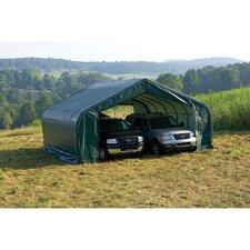 22' x 24' x 13' Peak Style Shelter
