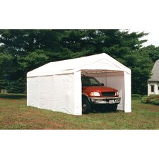 Super Max  10ft. H x 10ft. W x 20ft. D Canopy with Enclosure Kit