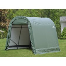 8' Wide Round Style Shelter
