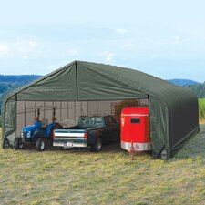 <strong>ShelterLogic</strong> 30' x 28' x 20' Peak Style Shelter